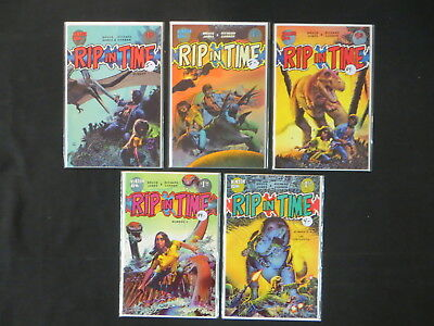 Rip In Time 5 Issue Comic Set #1-5 Bruce Jones Richard Corben Fantagor Press