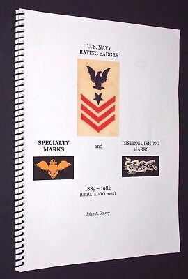 John A Stacey - U.s. Navy Rating Badges, Specialty & Distinguishing Marks To '05