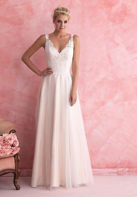 2018 New White / ivory Wedding Bridal Dress UK Stock Size: 6-8-10-12-14-16-18-20