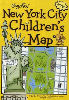 Guy Fox New York City Children's Map (Map), 9781904711094