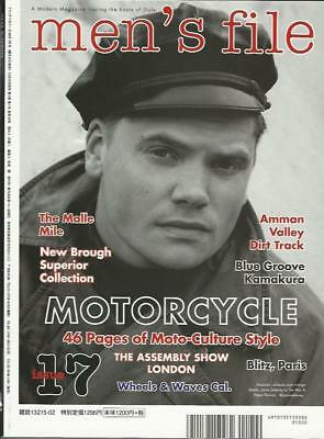 MENS FILE Magazine Issue No.17/CLUTCH Vol.59(NEW) POST TO UK INCLUDED