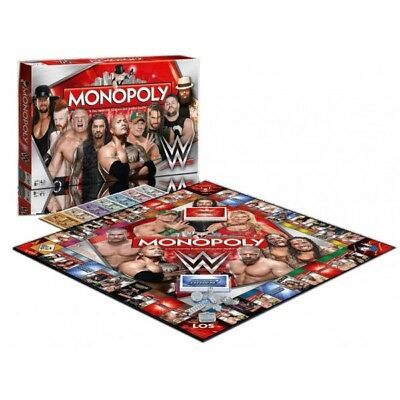WWE Wrestling Board Game Monopoly *German Version*
