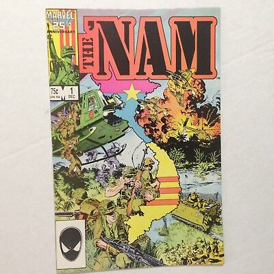 The NAM Comic Book Marvel 25th Anniversary (1986) Vol 1 # 1 Vintage