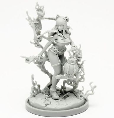 30mm Resin Kingdom Death Necromancer Variant Unpainted  WH291