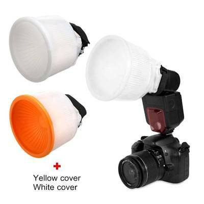 Universal Lambency Cloud Flash Diffuser Softbox Reflector Bowl Dome Cover Kit Wu