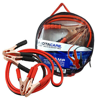 Jump Leads 600 Amp 600A Booster Cables Heavy Duty Starter Car Battery