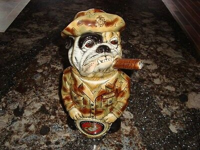 2003 Man's Best Friend Marine Bulldog Stein