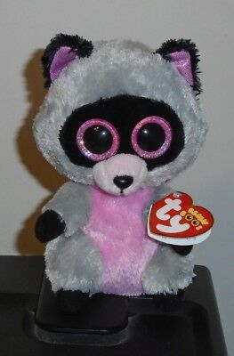 TY BEANIE BOOS ~ ROCCO the Raccoon (6 Inch) NEW MWMT -  15.90  acd6825c275d