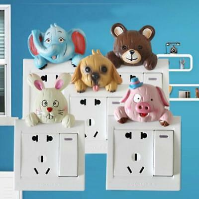 3D Animal Switch Sticker Wall Stickers Light Switches Bedroom Living Room Decor