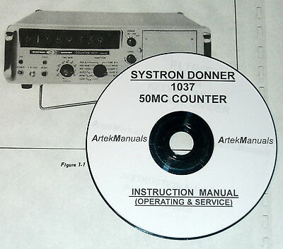 SYSTRON DONNER 6054B  Instruction OPERATING /& SERVICE Manual