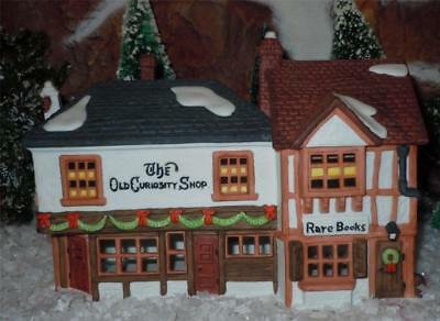 DEPT 56 DICKENS VILLAGE SERIES THE OLD CURIOSITY SHOP BUILDING HOUSE-lot-097