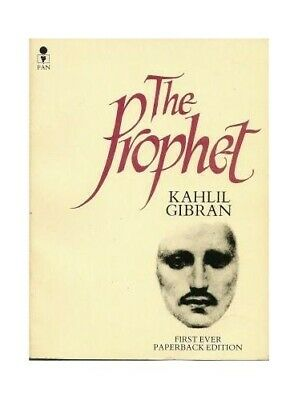 The Prophet by Kahlil Gibran Paperback Book The Cheap Fast Free Post