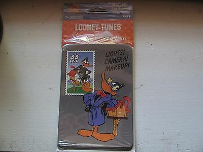 1999 Looney Tunes Magnetic Invitations - New - 4 Cards & Envelopes - Daffy Duck