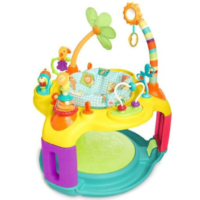Bright Starts Springin' Safari Bounce-a-Bout Activity Center FREE SHIPPING NEW