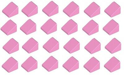 Lego Bright Pink Slope 1x1 20 pieces NEW!!!