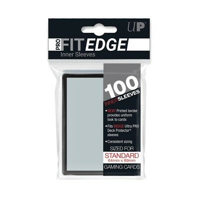 100 Ultra Pro Standard Pro-Fit Black Edge (100 Sleeves) (64 x 89mm)