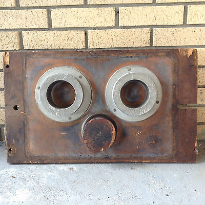 """Large 24"""" Vintage Industrial Wood Aluminum Foundry Factory Mold Pattern Wheels?"""