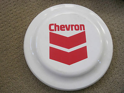 """Chevron Gas and Oil Frisby 9.5"""" Vintage"""