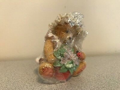 "Cherished Teddies VIOLET ""Blessings Bloom When You Are Near"" 156280 NIB"