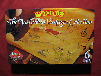 1992 Matchbox Wines Australian Vintage Collection 6 Pack Gift Set Ford Model A