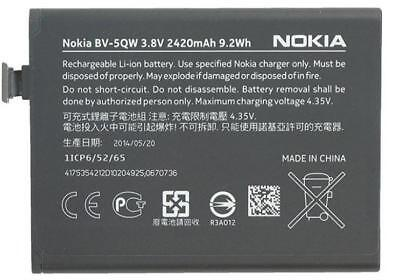 NEW OEM Original Genuine Nokia BV-5QW Internal Battery For Lumia 930 RM927