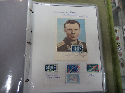 #mm. Collection Of Over 50 Pages Of Space Travel & Astronauts  Theme Stamps
