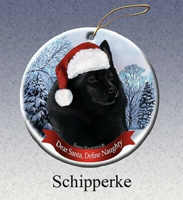 Define Naughty Ornament - Schipperke