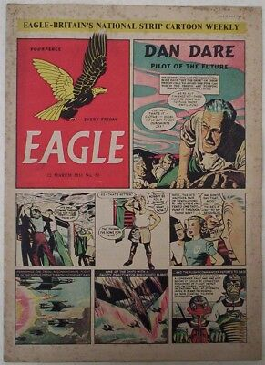 1951. Vintage EAGLE Comic Vol.1. #50. Cutaway of a Carrimore Car Transporter.