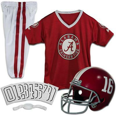 Franklin Sports Ncaa Medium Alabama Crimson Tide Deluxe Uniform Set