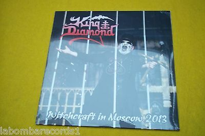 King Diamond ‎– Witchcraft In Moscow 2013 (SEALED) limited 096/100 only  LP Ç