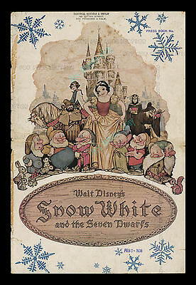 1938 ☆ Snow White and the Seven Dwarfs ☆ WALT DISNEY Campaign Book With Herald!
