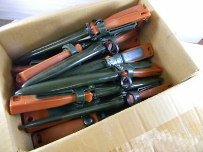 """Chinese Army Issue Rubber Training Bayonet Broken Sold """"as Is"""""""
