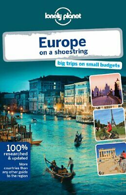 Lonely Planet Europe on a shoestring (Travel Guide) by Wilson, Neil Book The