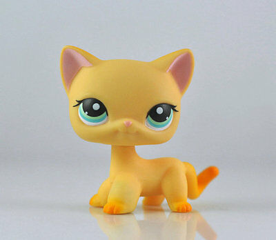 Pet Short Hair Cat Collection Child Girl Boy Figure Littlest Toy Loose LPS860