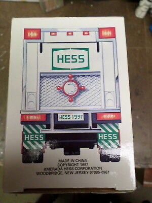 Hess Oil Promotional 1997 HESS Toy Truck and Racers