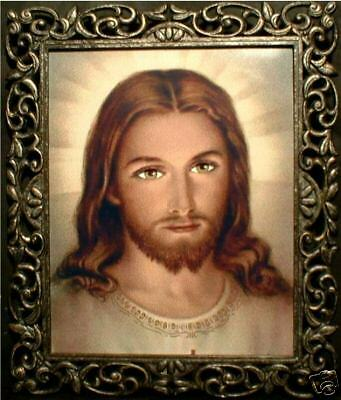 "Miracle Photo of Jesus ""Eyes Follow You"" Christian Religion Christ"
