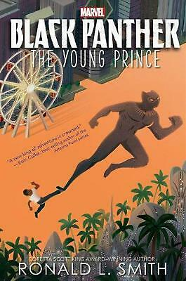 Black Panther: the Young Prince by Ronald L. Smith Hardcover Book Free Shipping!