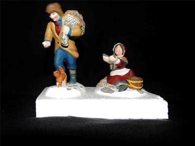 Dept 56 Dickens Village - A Treasure From The Sea - 2 Pc Set