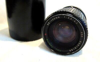 RMC TOKINA 35 - 105mm Macro Zoom Lens for Canon FD mount AE