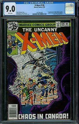 X-Men 120 CGC 9.0 - White Pages