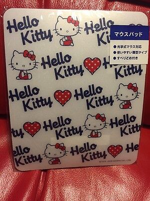 Sanrio Original Hello Kitty Japan Strawberry 2009 Mouse Pad Dorm Kawaii Cute