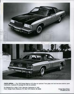 1978 Press Photo The 1979 Dodge Magnum XE - cvp85889