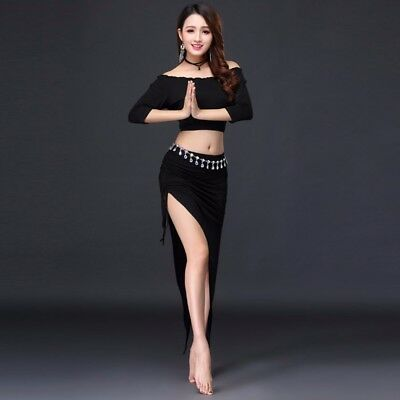 NEW Belly Dance Sets Belly Dance Training Skirt Dance Practice Clothing Costume