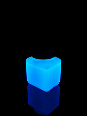 100ml UV-aktive Stempelfarbe Transparent-Blau