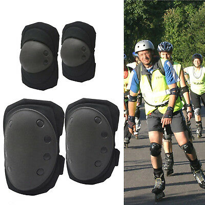 Tactical Knee Pad Elbow Pad Set Airsoft Knee Elbow Protective Pads Combat Gear