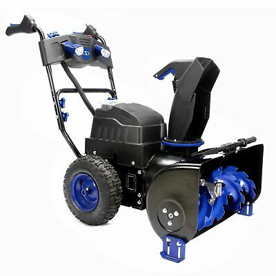 Snow Joe ION8024-XR 80V 24 Inch 2 Stage Thrower Cordless Electric Snow Blower