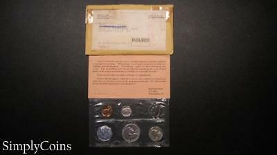 1962 Proof Set ~ Original Envelope With COA ~ US Mint Silver Coin Lot SKU-863