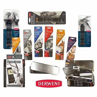 sketching drawing sets pencil charcoal pencils pack wallet artists tin graphite