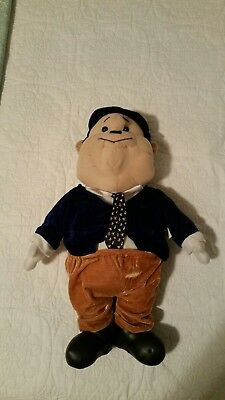 Oliver Hardy Large Plush Doll Laurel and Hardy Figure Excellent Condition