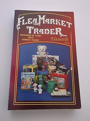 1997 FLEA MARKET TRADER Price Guide Paperback Book 11th Edition